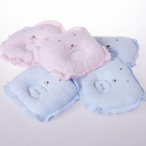 健康竹纤维婴儿定型枕/防宝宝偏头/超柔透气防臭宝宝枕头 批发