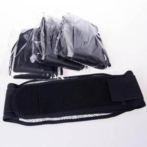 托玛琳竹炭自发热护腰 磁疗保健护具 保暖黑色护腰 厂家批发