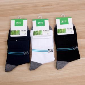 竹纤维男袜 夏季薄袜