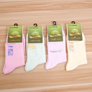 女士袜子 新款竹纤维女袜