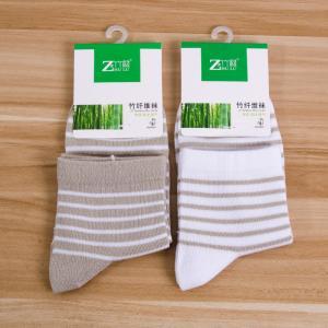 竹纤维女士中筒袜 夏季薄袜