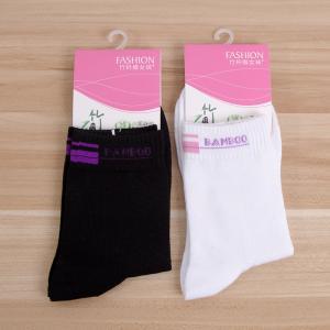 竹纤维女士袜子批发 2017新款女袜