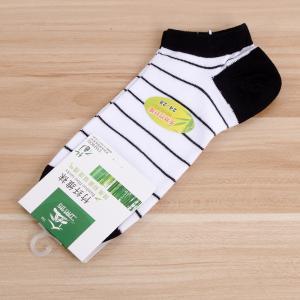 竹纤维男袜 男船袜