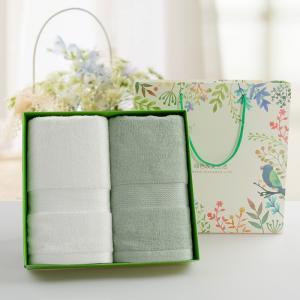 竹纤维吸水毛巾 客户送礼活动礼品公司福利
