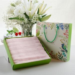 竹纤维浴巾 浴巾礼品批发 可定制