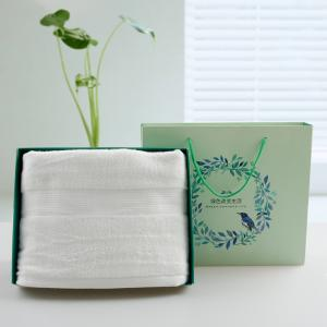加厚竹纤维浴巾礼品定制 浴巾礼盒 成人浴巾