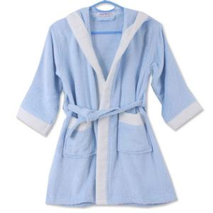 竹纤维儿童浴袍 儿童洗澡保暖浴袍