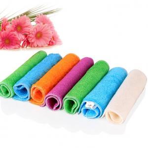 竹纤维洗碗布 多彩竹纤维洗碗巾批发