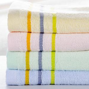 竹纤维色织加厚浴巾