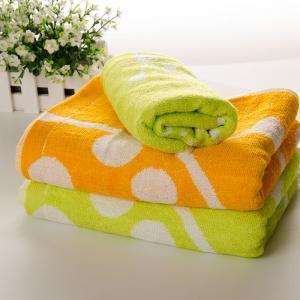 竹纤维儿童浴巾批发 儿童洗澡浴巾 小鹿浴巾 100%竹纤维